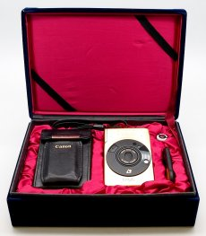Canon Ixus APS Gold Limited Edition, Mint-, Boxed #7710