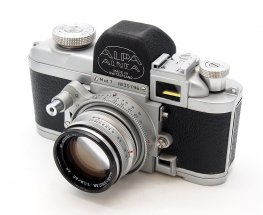 Alpa Model 7 with Kern Switar 50mm F1.8, Hood & Cap #7813
