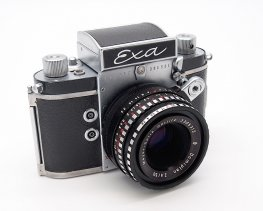 Exa Type 6 with Domiplan 50mm F2.8 #7389K