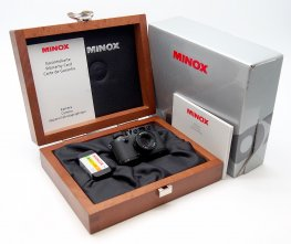 Minox 16mm Leica 111F, Miniature, Black, Mint & Boxed #7468