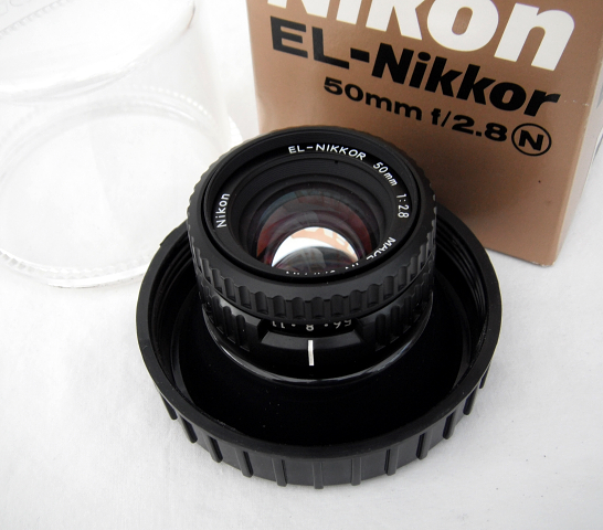 Nikon 50mm F2.8 Enlarging Lens Cased