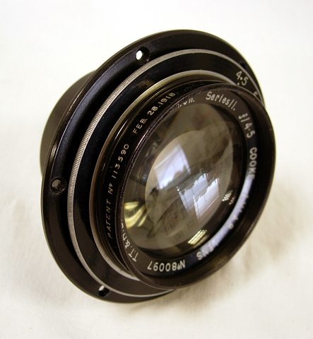 Taylor-Hobson Cooke Aviar Series 11, 8.25 Inch F4.5 c1918 #7688 - Click Image to Close