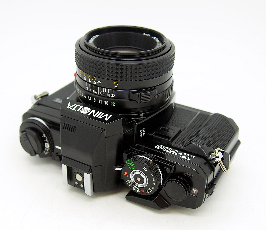 Minolta X700 with 50mm F1.7 MD Rokkor #7001 - Click Image to Close