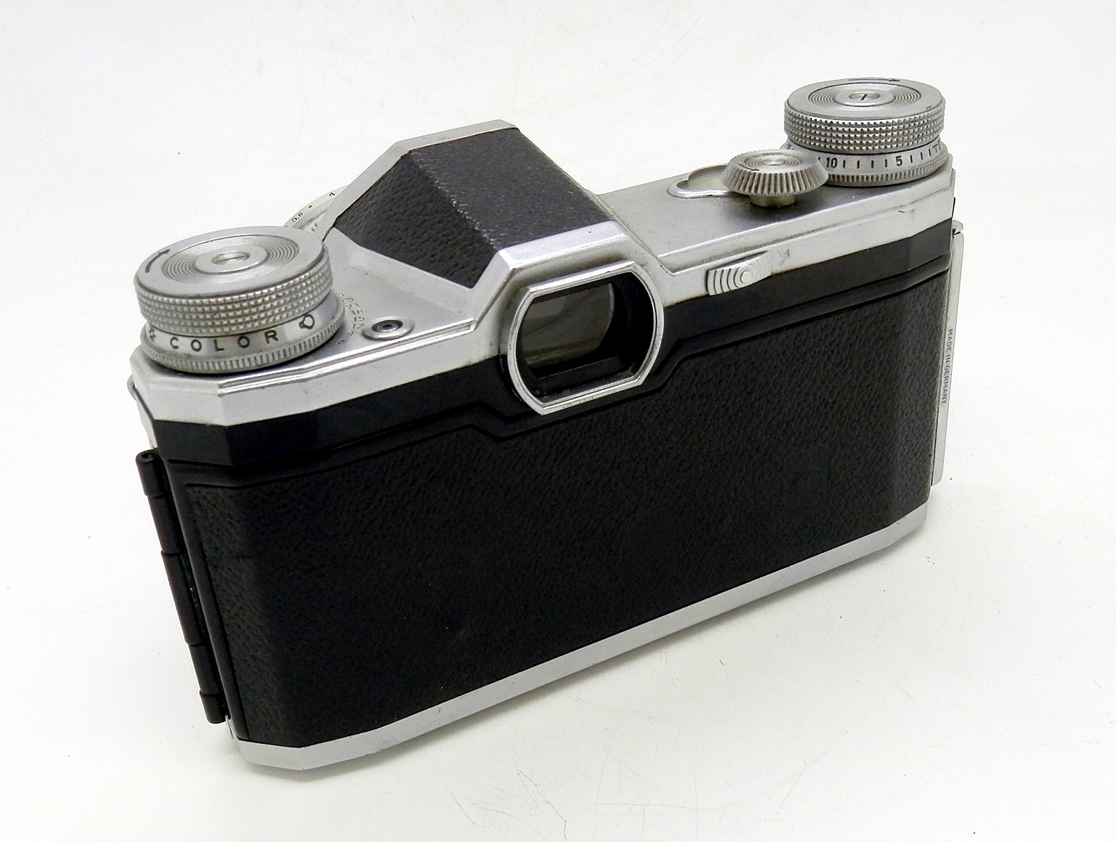 Pentacon FM 35mm SLR with 50mm F2.8 Tessar #6660 - Click Image to Close