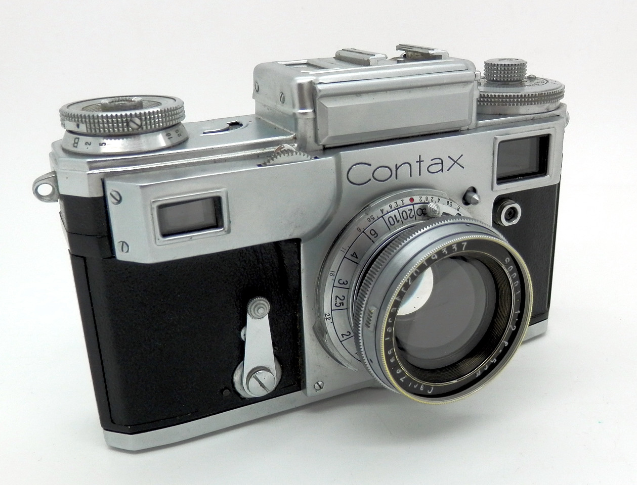 Contax 111 with 5cm F1.5 Sonnar #6151 - Click Image to Close