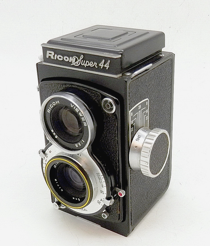 Ricoh Super 44 127 TLR Camera #6713 - Click Image to Close