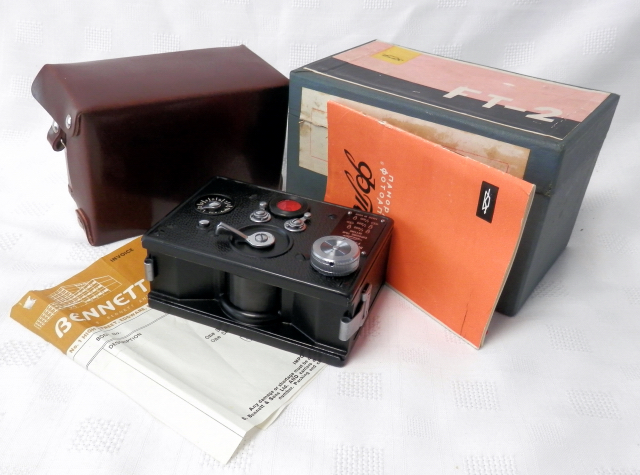Russian FT-2 Panoramic 35mm Camera Boxed #8070 - Click Image to Close
