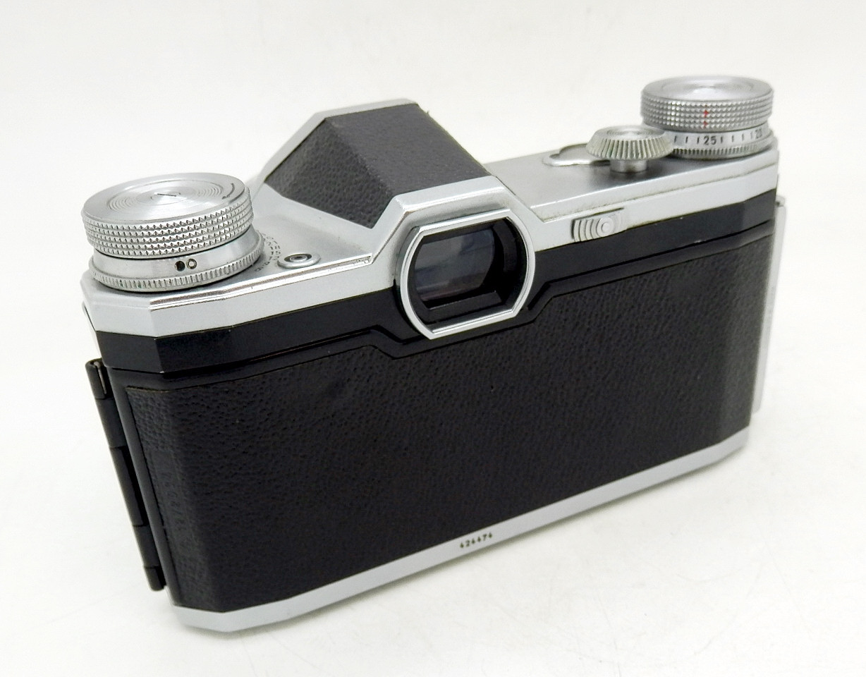 Contax F 35mm SLR with Tessar 50mm F2.8 #6725 - Click Image to Close