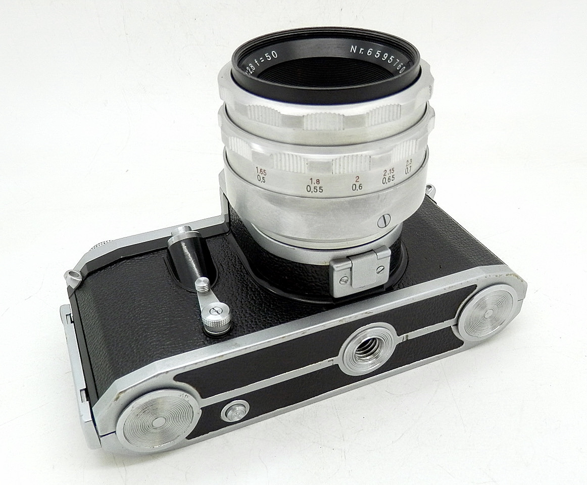 Contax D 35mm SLR with Tessar 50mm F2.8 #6724 - Click Image to Close