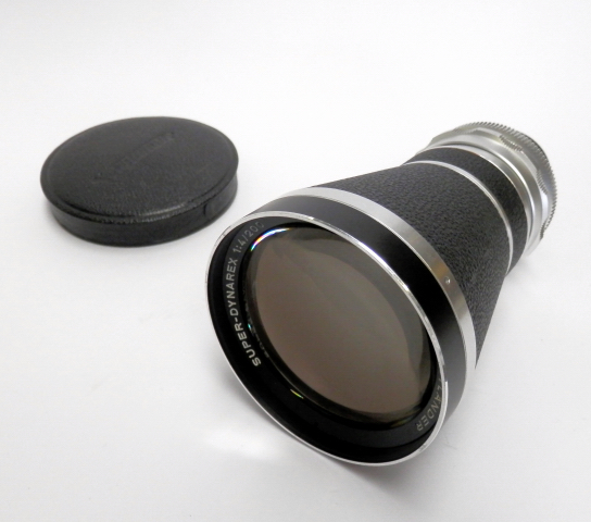 Voigtlander Super-Dynarex 200mm F4 Bessamatic Mint & Boxed #5738 - Click Image to Close
