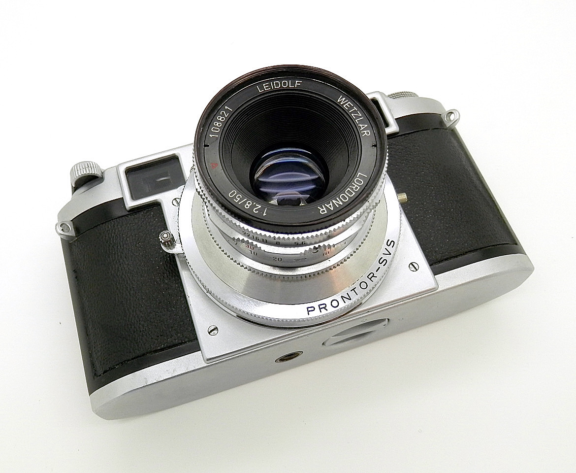 Leidolf Wetzlar Lordomat 35mm CRF #6764 - Click Image to Close