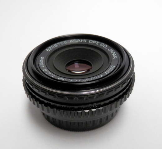 Pentax 40mm F2.8 Pancake PKM Bayonet Mount #5761 - Click Image to Close