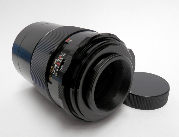 Yashica Yashinon-DX 135mm F2.8 M42 Mount Mint & Cased #5765 - Click Image to Close