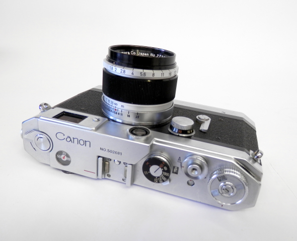 Canon VT with Canon 5cm F1.8 #8237 - Click Image to Close