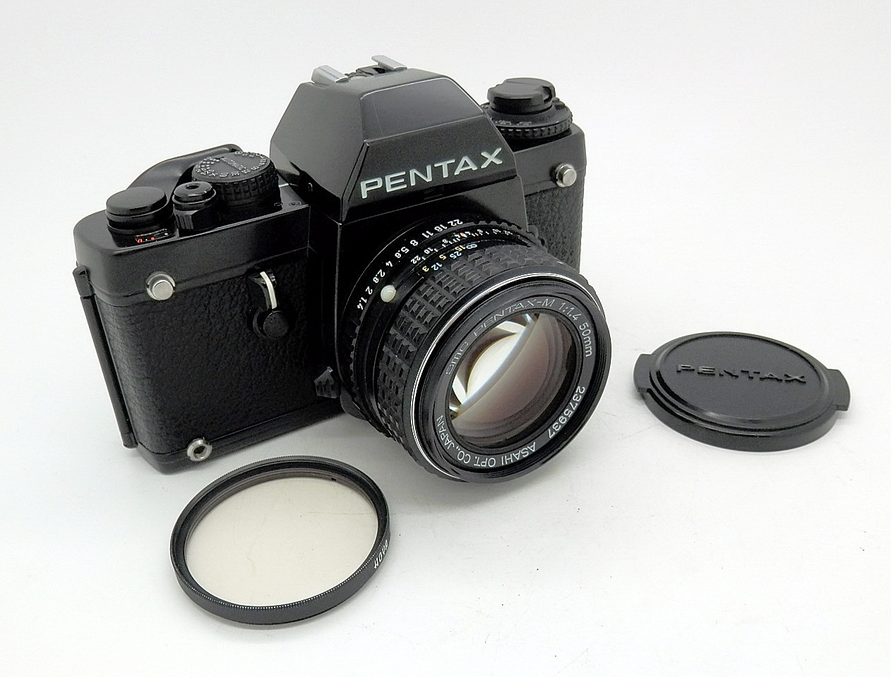 Pentax LX with PKA 50mm F1.4 Mint- #6842 - Click Image to Close