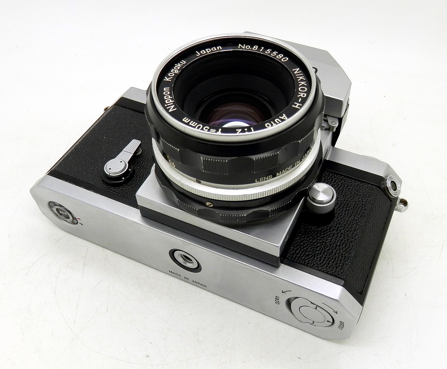 Nikon F Photomic with 50mm F2 #6600 - Click Image to Close