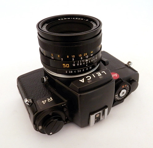 Leica R4 Body with 50mm F2 Summicron-R #6446 - Click Image to Close