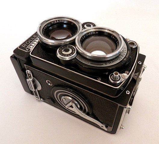 Rolleiflex 2.8E2 Planar, Cased, #6433 - Click Image to Close