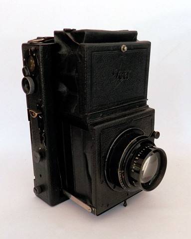 Ica Folding Reflex 754 Tessar 12cm F2.7 c1924 #6457 - Click Image to Close
