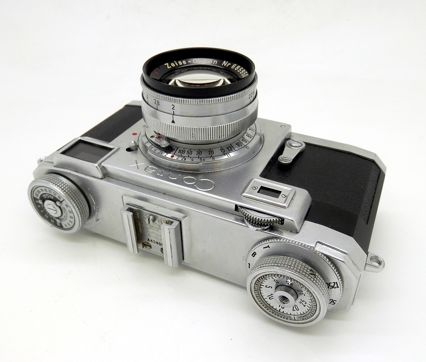 Zeiss Contax 11a with 50mm F2 Sonnar #6643 - Click Image to Close